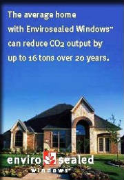 Envirosealed Homes have lower CO2 emissions